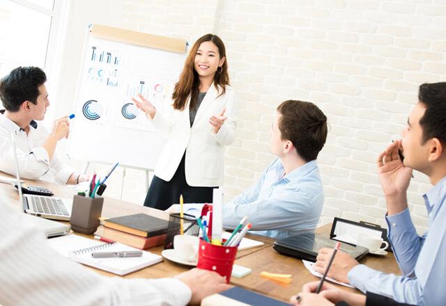 海外向け営業・販促ツール企画制作
